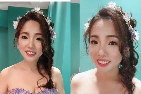 2019/07/28 珮甄現場造型/瓊瑤造型ivy make up