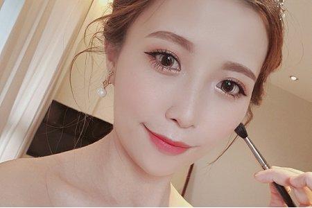 9/26瓊瑤造型 現場新娘迎娶造型
