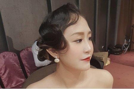 2020/11/14新娘現場造型ivy瓊瑤