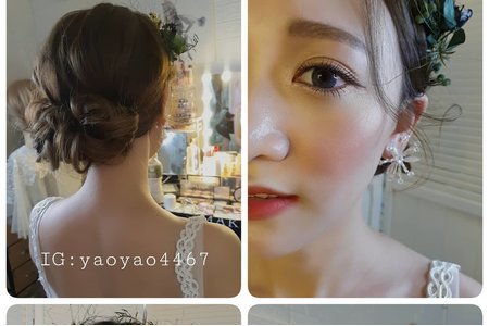 ivymakeup 瓊瑤造型新娘祕書