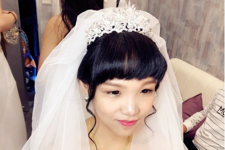 日系娃娃甜美風格新娘