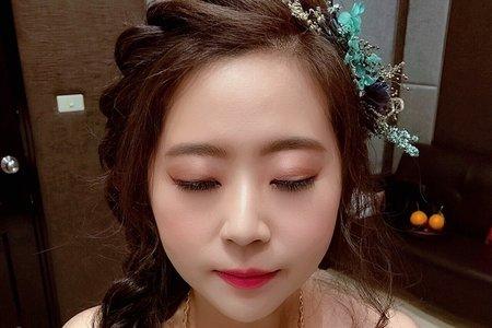 韓風精緻眼妝