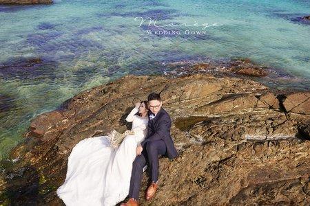 台中自助婚紗 | 沖繩海外婚紗