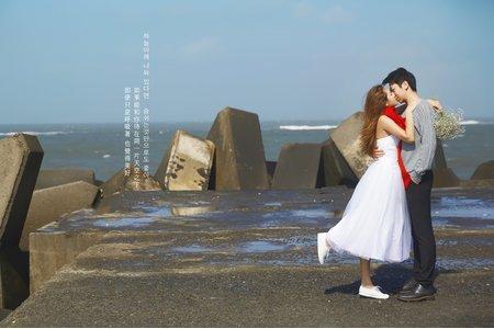 [台中自助婚紗] 被韓劇鬼怪觸動心弦的婚紗照