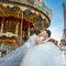 海外婚紗旋轉木馬手工婚紗-4036