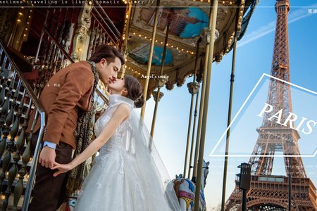 [海外婚紗] 法國 | 於藝術之都的愛情藝術