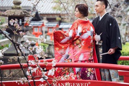 日本海外婚紗櫻花 | 客片