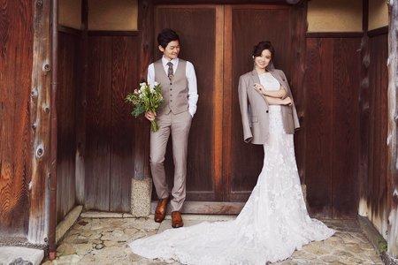 台中海外婚紗旋轉木馬 | 京都楓葉婚紗