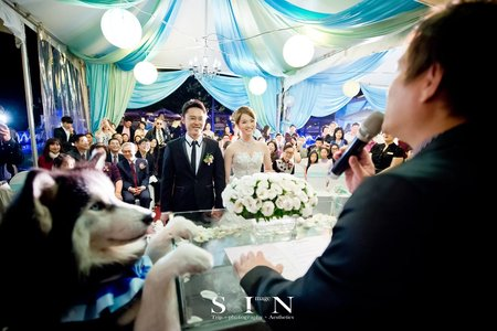 小魚&偉傑の結婚式