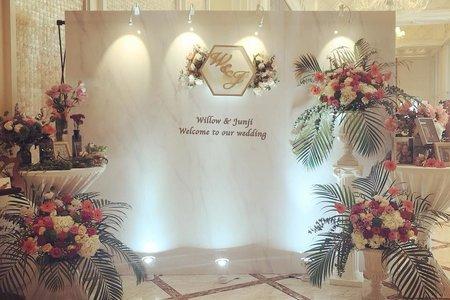 客製化大理石婚禮佈置