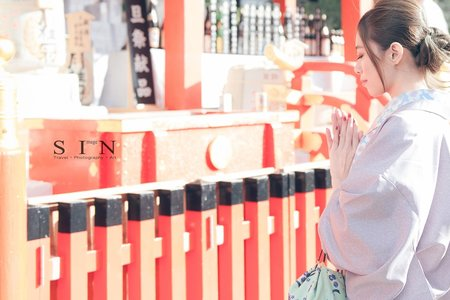 SIN image自助婚紗 精選『日本和服』