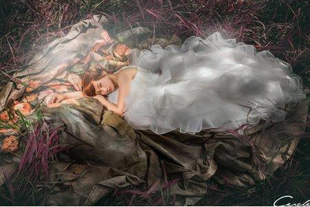 自助婚紗 油畫風 古典婚紗-CERCLE工作室 女攝小喬