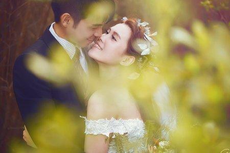 CERCLE-女攝小喬-秋色系婚紗