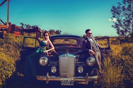 cercle攝影工作室-女攝小喬 自助婚紗 高雄婚紗工作室 復古風風