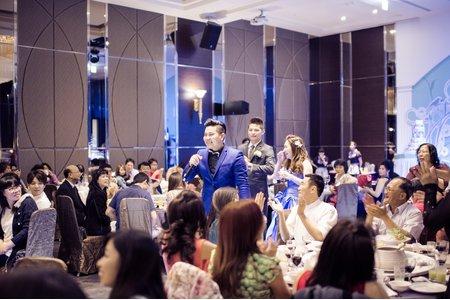 [台南東東宴會廳]MIKE&IRIS婚宴