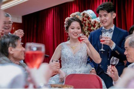 [台南經理大餐廳]瑜霖 x Howard Wu文訂婚宴