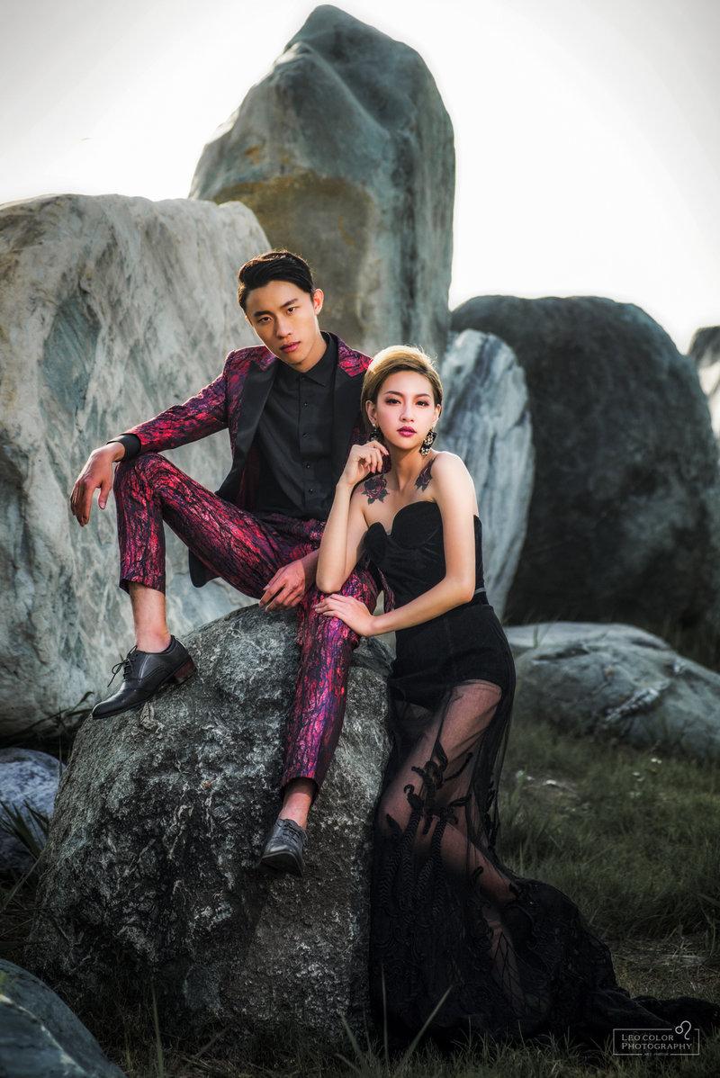 Leo Color 自主風格婚紗包套作品