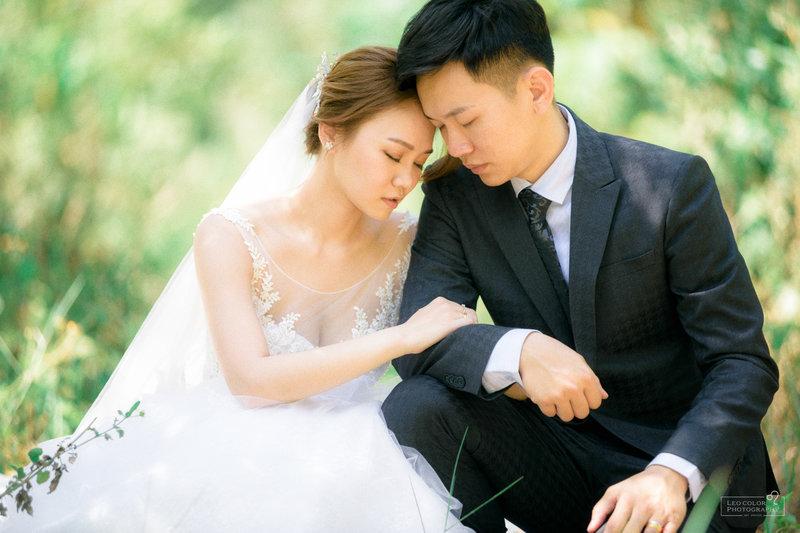 Leo Color 台南自助風格婚紗包套作品