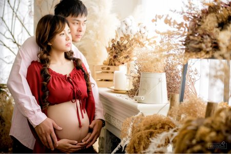 Leo Color 台南 孕婦親子寫真