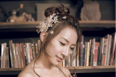 韓式 花苞頭