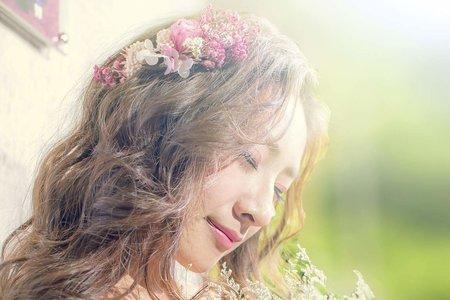 花仙子  浪漫公主頭