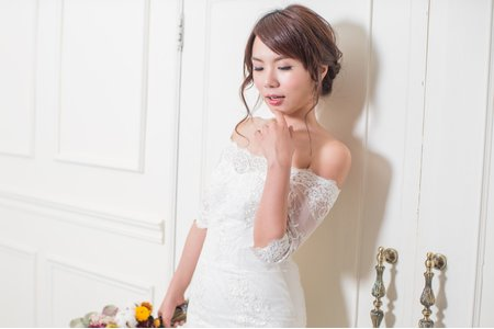 性感 魚尾婚紗
