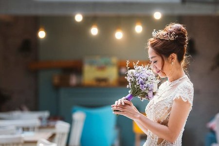 花苞頭   婚禮造型