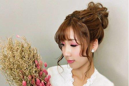 韓式花苞頭