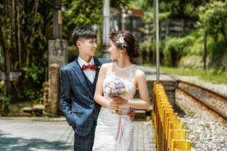 婚紗外拍  白紗