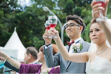 婚禮攝影作品 / 青青時尚會館