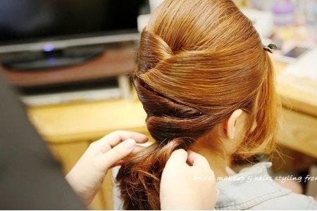 歷年來的各式編髮造型