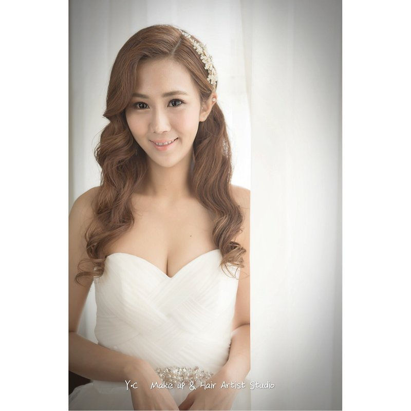 新娘秘書,跟拍服務,單妝髮,海外婚禮作品