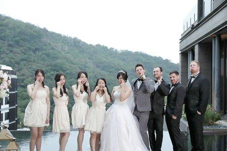 台北婚攝 北投麗禧 戶外證婚