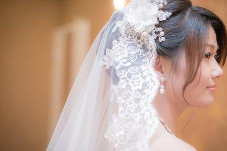 新娘頭紗搭配