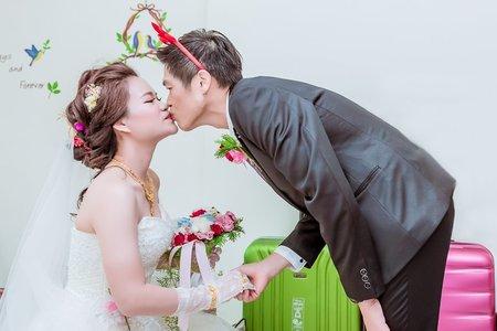 [婚禮記錄]志鴻❤凱莉 婚禮記錄@斗南 群星餐廳