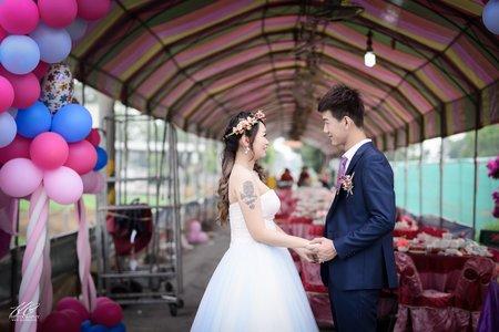 雲林婚攝 家齊❤雨瑱。婚禮記錄@自宅流水席