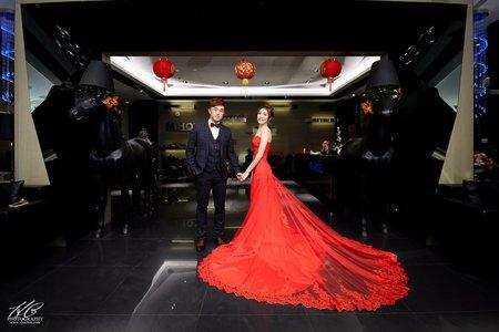 南投婚攝 嘉遠❤育年。婚禮記錄@菜挫婚宴會館