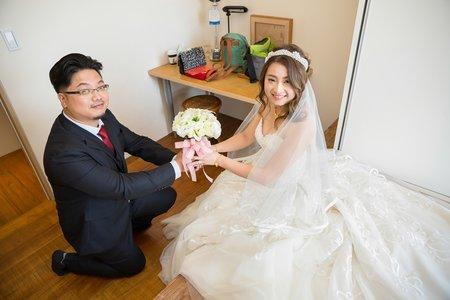 鴻宇♥孟綸 婚禮紀錄  / 花壇金典