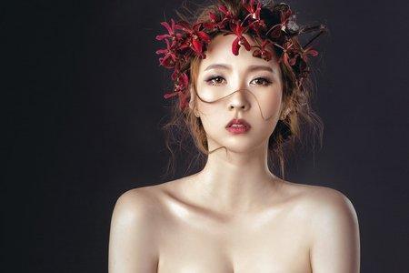 hannah 高雄新娘秘書|古典花圈氣質款
