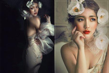新秘HANNAH|造型整體攝影創作|罌粟之戀