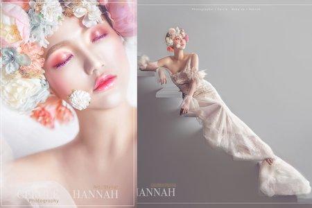 《CERCLE X HANNAH 整體造型攝影創作》