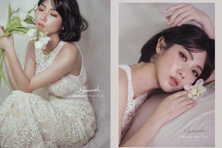 新娘秘書|短髮新娘 自然派系的韓系風格