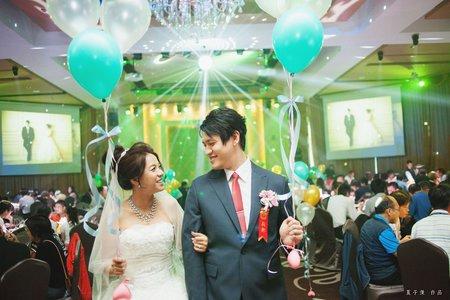婚攝:新北新店彭園會館婚禮紀錄紀實