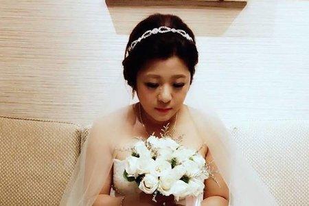 梅子結婚造型