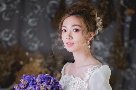 日式花苞髮型