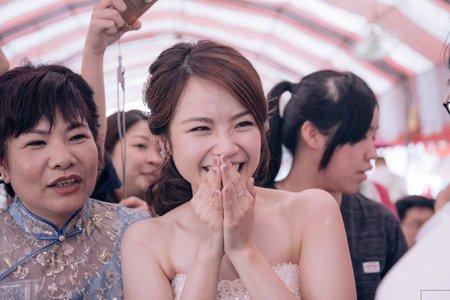 【婚禮紀錄】文定儀式-迎賓宴客流水席