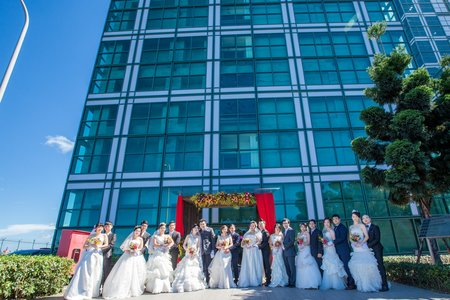 台北環保署聯合婚禮