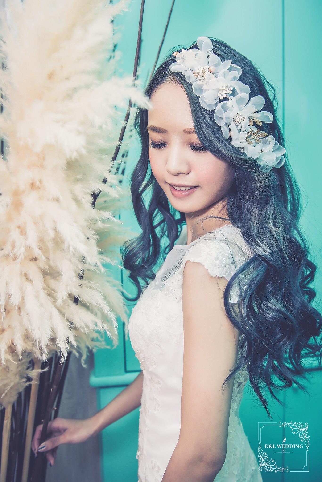 台中新秘Tifa /整體造型,自助婚紗