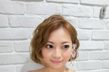 Tifa makeup~短髮新娘造型