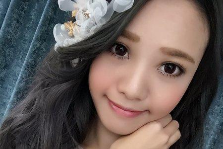 Tifa make up studio~編髮甜甜新娘,台中新秘
